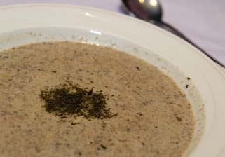 Fresh Mushroom Soup